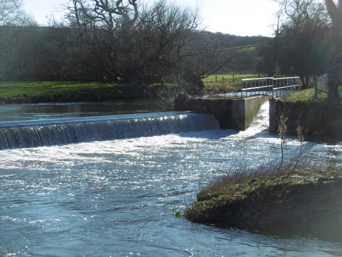 Colleton Weir After
