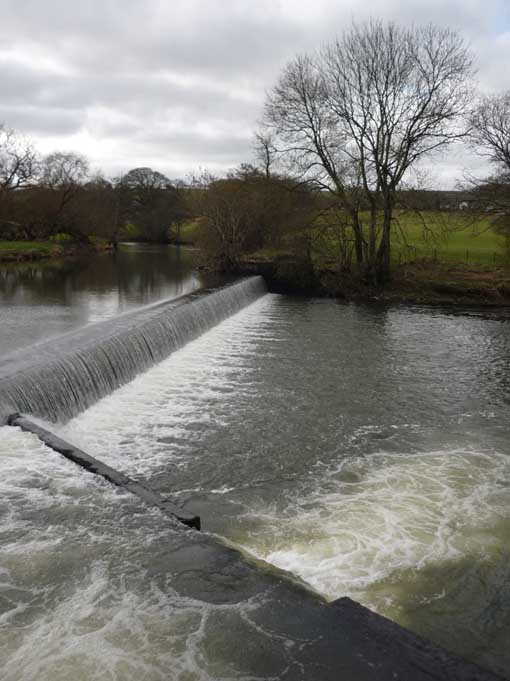 Colleton Weir Before