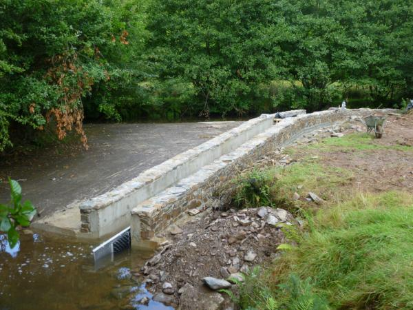 North Molton Weir After